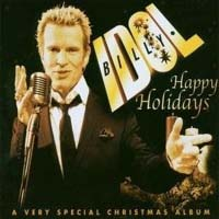 [Billy Idol Happy Holidays Album Cover]
