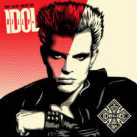 [Billy Idol Idolize Yourself - The Very Best Of Album Cover]