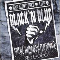 [Black 'n Blue One Night Only Live Album Cover]