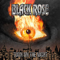 [Black Rose Turn on the Night Album Cover]