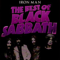 [Black Sabbath Iron Man: The Best Of Black Sabbath Album Cover]