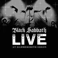 [Black Sabbath Live at Hammersmith Odeon Album Cover]