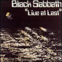 [Black Sabbath Live At Last Album Cover]