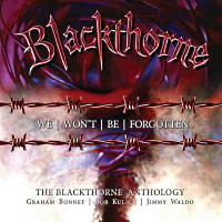 Blackthorne We Won't Be Forgotten - The Blackthorne Anthology Album Cover