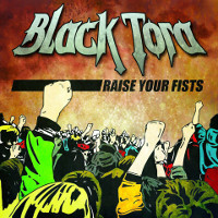 [Black Tora Raise Your Fists EP Album Cover]