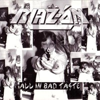 [Blaz-On All in Bad Taste Album Cover]