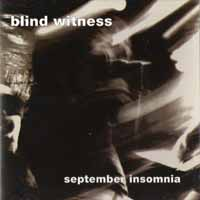 [Blind Witness September Insomnia Album Cover]