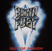 [Blind Fury Out of Reach Album Cover]