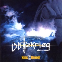 [Blitzkrieg Sins and Greed Album Cover]