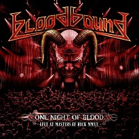 [Bloodbound One Night of Blood - Live At Masters of Rock MMXV Album Cover]