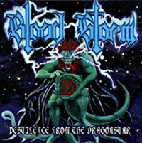 [Blood Storm Pestilence From The Dragonstar Album Cover]