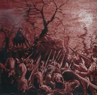 [Blood Coven Of Blood and Battle Album Cover]