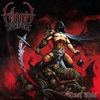 [Blood Tsunami Thrash Metal Album Cover]
