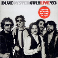 [Blue Oyster Cult Live '83 Album Cover]