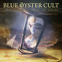 [Blue Oyster Cult Live at Rock of Ages Festival 2016 Album Cover]