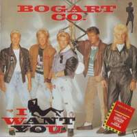 Bogart Co I Want You Album Cover