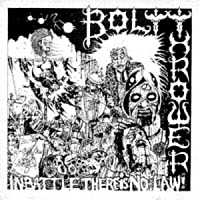 [Bolt Thrower In Battle There Is No Law Album Cover]