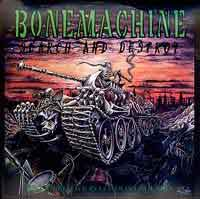 Bone Machine Search and Destroy (Live) Album Cover