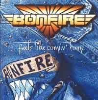 [Bonfire Feels Like Comin' Home Album Cover]