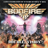 [Bonfire Double X Vision Album Cover]