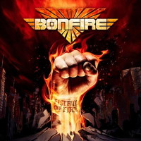 [Bonfire Fistful of Fire Album Cover]