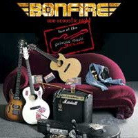 [Bonfire One Acoustic Night Album Cover]