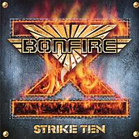 [Bonfire Strike Ten Album Cover]