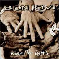 [Bon Jovi Keep The Faith Album Cover]