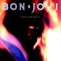 [Bon Jovi 7800 Degrees Fahrenheit Album Cover]