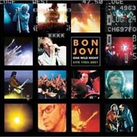Bon Jovi One Wild Night Live 1985-2001 Album Cover