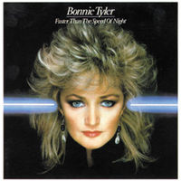 [Bonnie Tyler Faster Than the Speed of Night Album Cover]