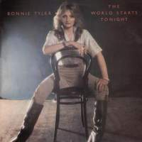 [Bonnie Tyler The World Starts Tonight Album Cover]