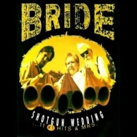 [Bride Shotgun Wedding...11 Number 1 Hits and Mrs. Album Cover]