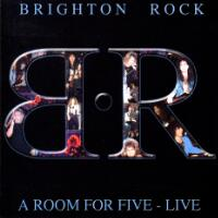 [Brighton Rock A Room for Five - Live Album Cover]