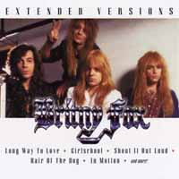 [Britny Fox Extended Versions Album Cover]