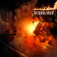 [Brunorock Live On Fire Album Cover]