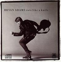 [Bryan Adams Cuts Like A Knife Album Cover]