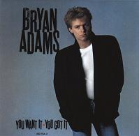 [Bryan Adams You Want It, You Got It Album Cover]