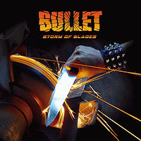 [Bullet Storm of Blades Album Cover]