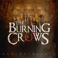 [The Burning Crows Behind the Veil Album Cover]