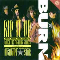 [Burn Rip It Up EP Album Cover]