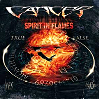 [Cancer Spirit in Flames Album Cover]