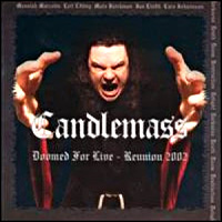 [Candlemass Doomed For Live - Reunion 2002 Album Cover]
