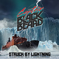 [Captain Black Beard Struck by Lightning Album Cover]