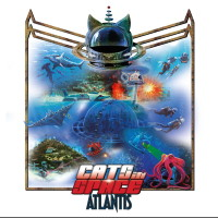 Cats In Space Atlantis Album Cover