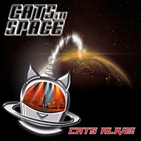 Cats In Space Cats Alive! Album Cover