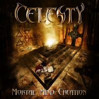 [Celesty Mortal Mind Creation Album Cover]