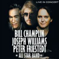 [Champlin / Williams/ Friestedt Live In Concert Album Cover]