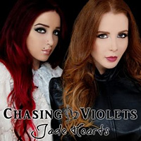 [Chasing Violets Jade Hearts Album Cover]