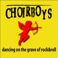 [Choirboys Dancing on the Grave of Rock 'N' Roll Album Cover]